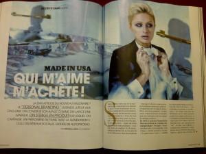Madame Figaro Personal Branding déc 2012 1