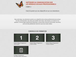 Exemple de modules de formation en ligne sur le Personal Branding