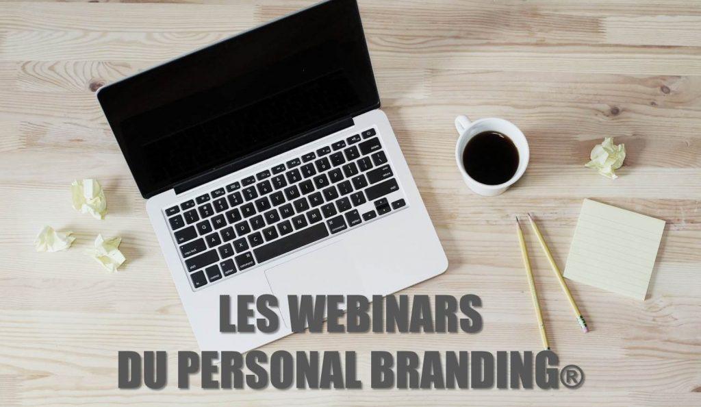 Les webinars du Personal Branding.