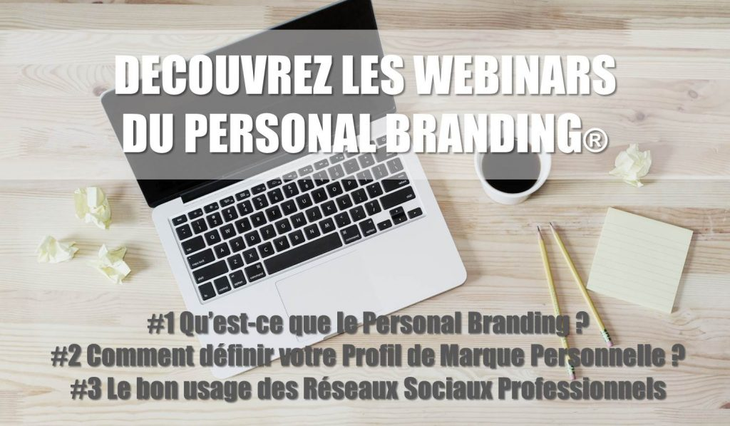 Les webinars du Personal Branding
