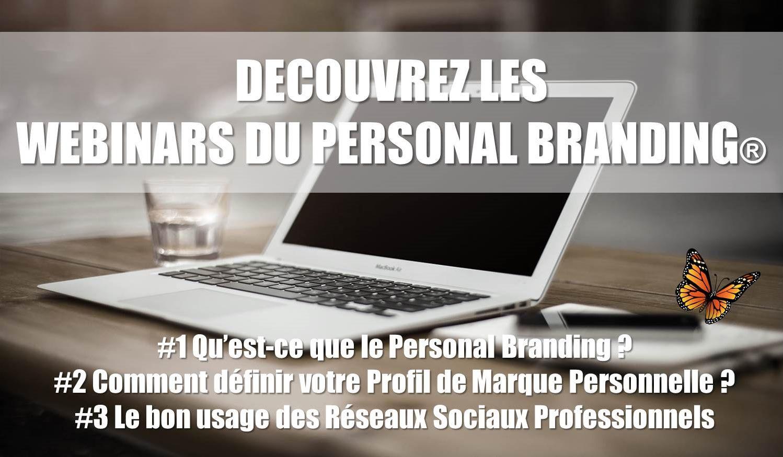 Participez gratuitement aux Webinars du Personal Branding