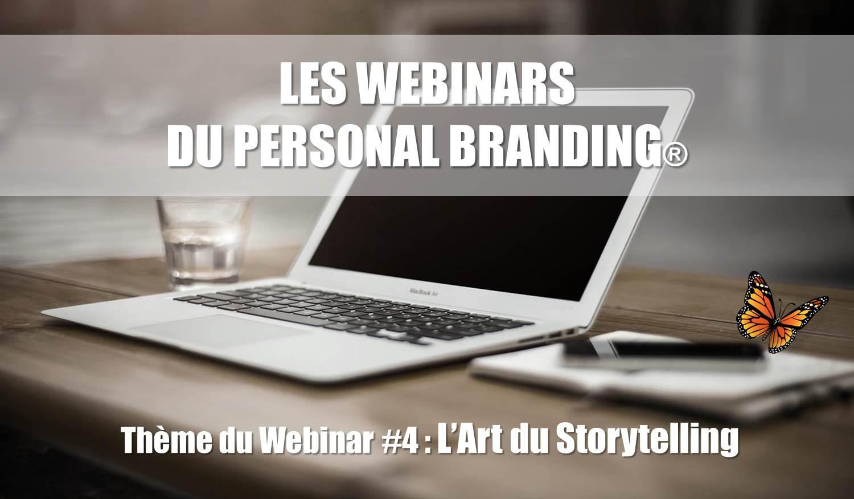 Webinar 4 du Personal Branding sur l'art du Storytelling
